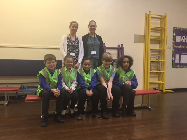 Welcome to the guys at Bliss Charity School our newest Road Safety Heroes who received their badges, notebooks, business cards and hi-viz in this mornings assembly.